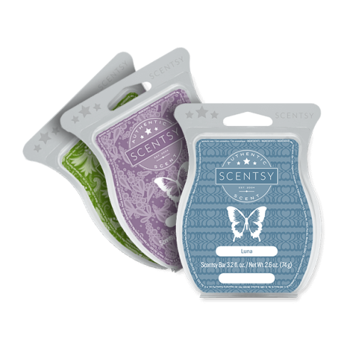 3 pack Scentsy Bars