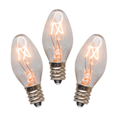 15 watt bulbs - 3 pack
