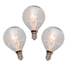 25 watt bulbs - 3 pack