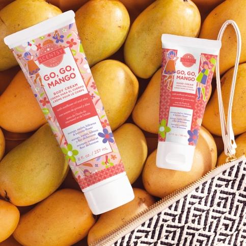 Body Cream & Hand Cream in Go, Go Mango