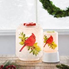 Christmas Cardinal and Mini