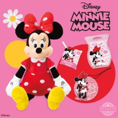 Minnie Mouse Scentsy Buddy, scent pak, Scentsy Bar, and Scent Circle