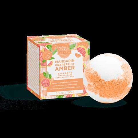 Bath Bomb- Mandarin Grapefruit Amber